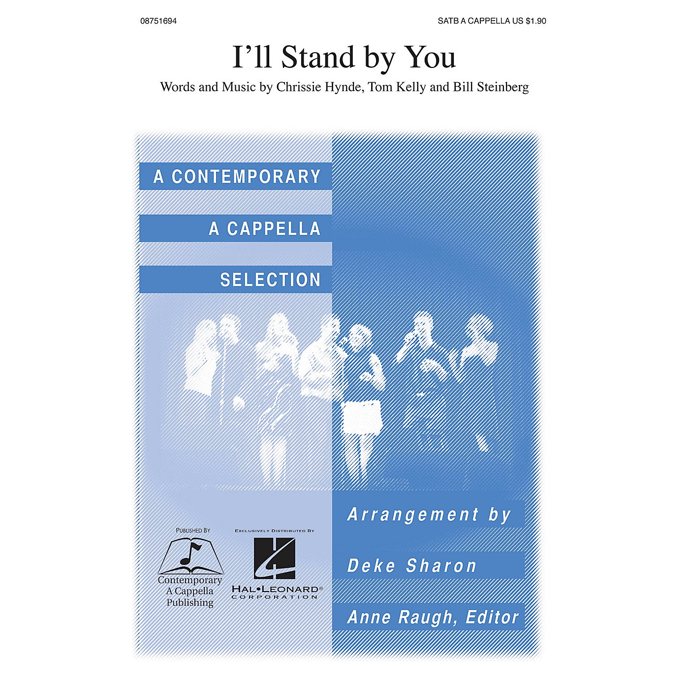 Contemporary A Cappella Publishing I'll Stand By You SATB a cappella arranged by Deke Sharon thumbnail