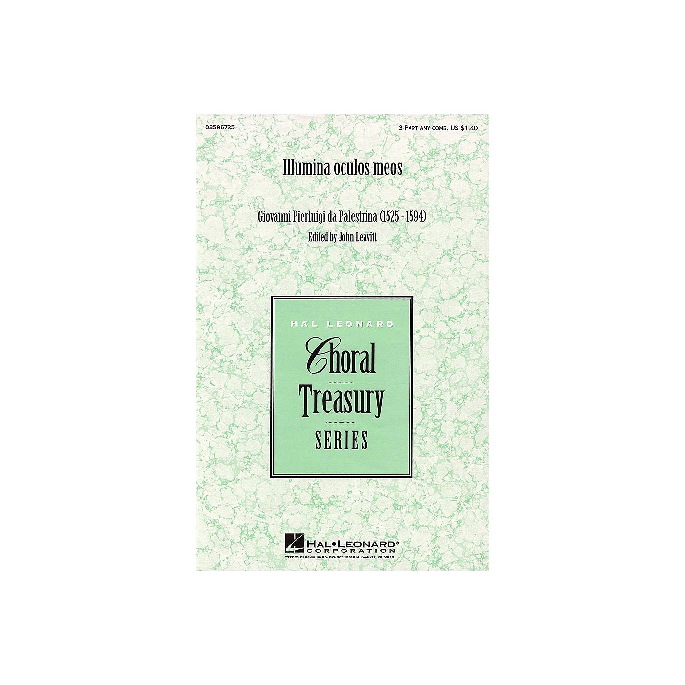 Hal Leonard Illumina oculos meos 3 Part Any Combination arranged by John Leavitt thumbnail