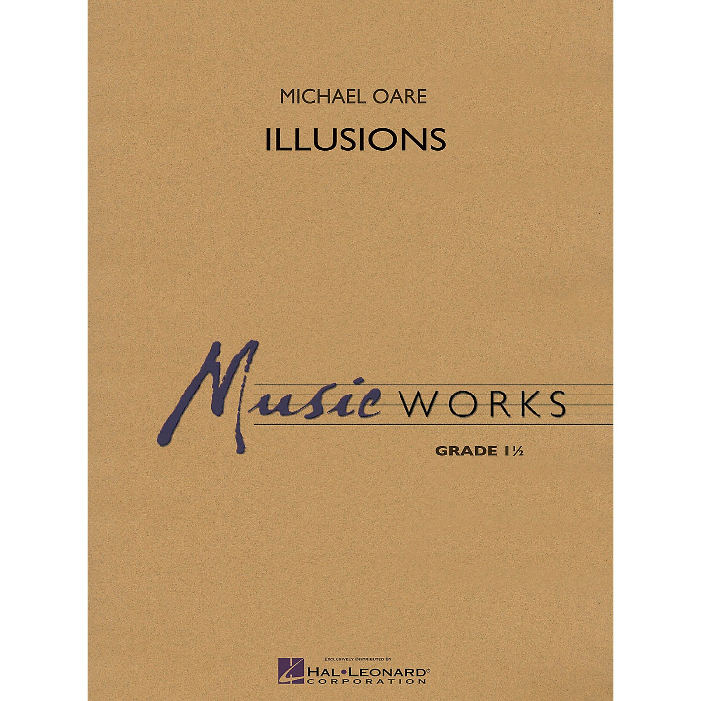 Hal Leonard Illusions Concert Band Level 1 Composed by Michael Oare thumbnail