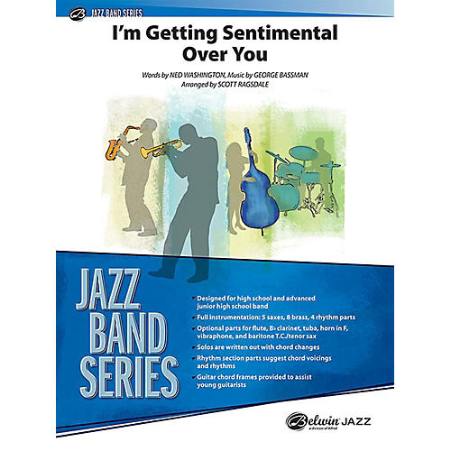 Alfred I'm Getting Sentimental over You Jazz Band Grade 3 Set thumbnail