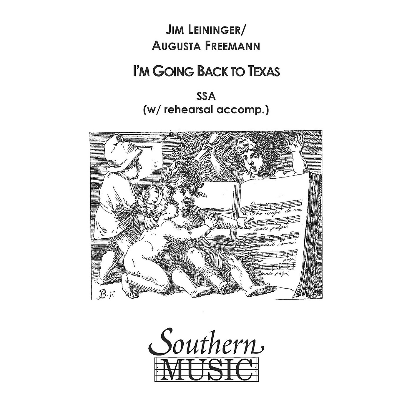 Southern I'm Going Back to Texas SSA Composed by Jim Leininger thumbnail