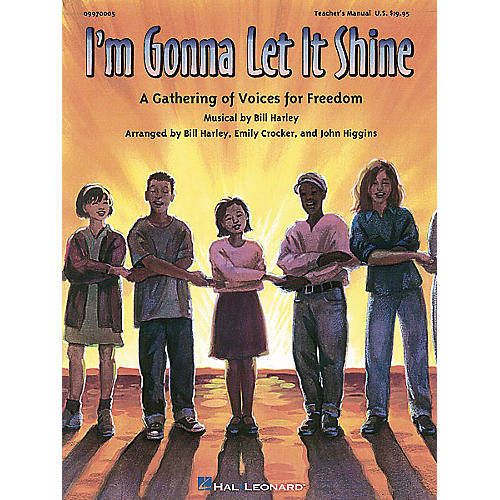 Hal Leonard I'm Gonna Let It Shine - A Gathering of Voices for Freedom (Musical) Singer 5 Pak by John Higgins thumbnail