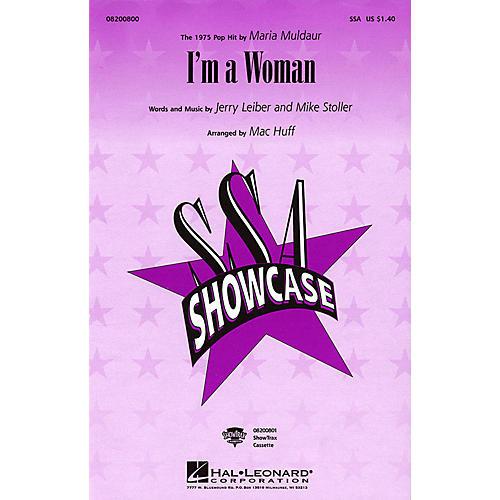 Hal Leonard I'm a Woman SSA by Maria Muldaur arranged by Mac Huff thumbnail