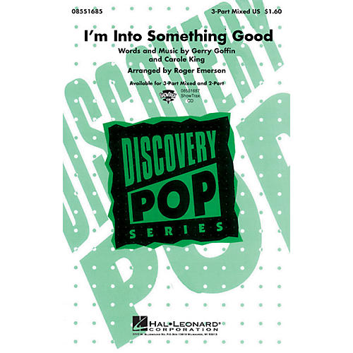 Hal Leonard I'm into Something Good 3-Part Mixed by Herman's Hermits arranged by Roger Emerson thumbnail