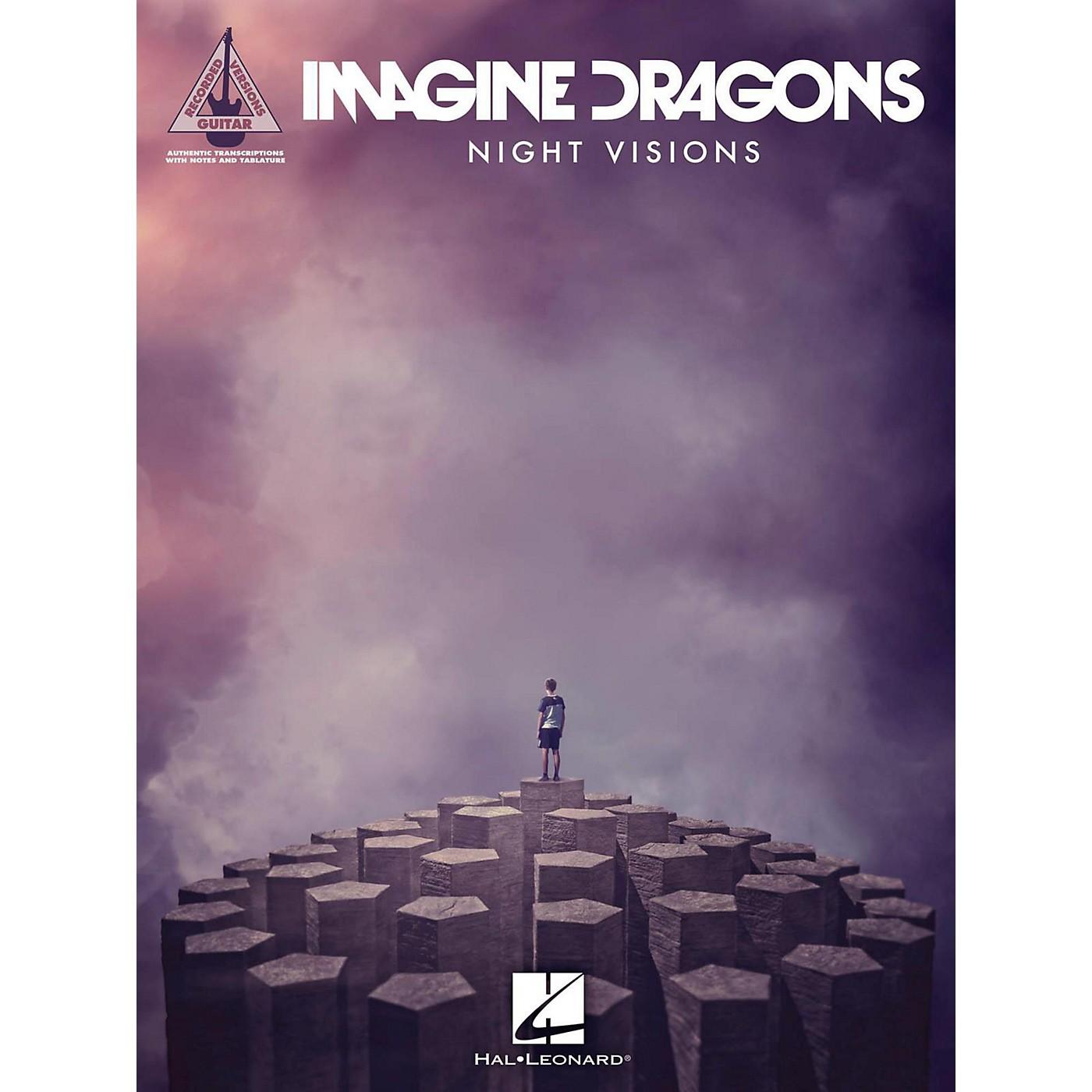 Hal Leonard Imagine Dragons - Night Visions Guitar Tab Songbook thumbnail
