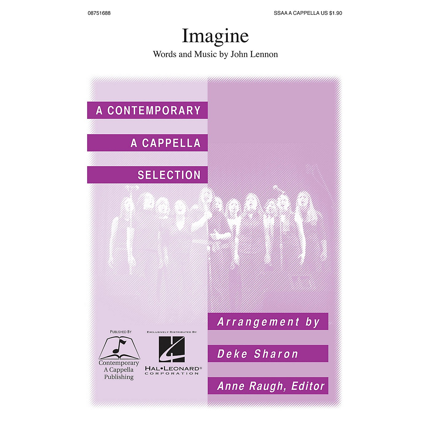 Contemporary A Cappella Publishing Imagine SSAA A Cappella by John Lennon arranged by Deke Sharon thumbnail