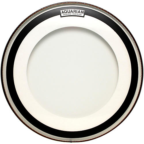 aquarian 16 in impact clear double ply bass drum head woodwind brasswind. Black Bedroom Furniture Sets. Home Design Ideas