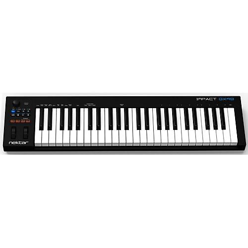 Nektar Impact GX49 MIDI Controller Keyboard thumbnail