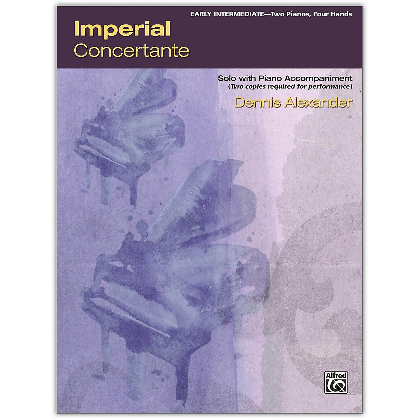 Alfred Imperial Concertante 2 copies required Early Intermediate thumbnail