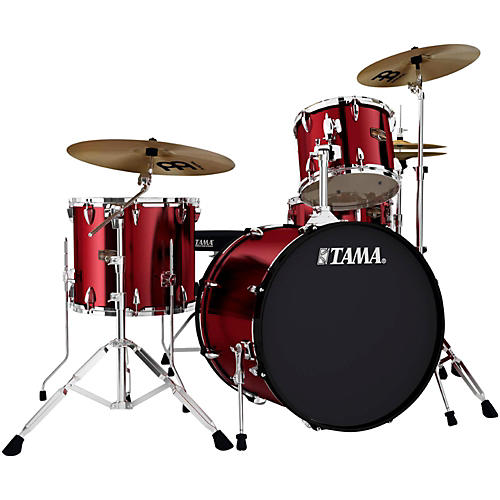 TAMA Imperialstar 4-Piece Drum Kit with Cymbals thumbnail
