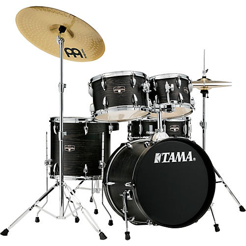 TAMA Imperialstar 5-Piece Complete Drum Set with 18 in. Bass Drum and Meinl HCS Cymbals thumbnail
