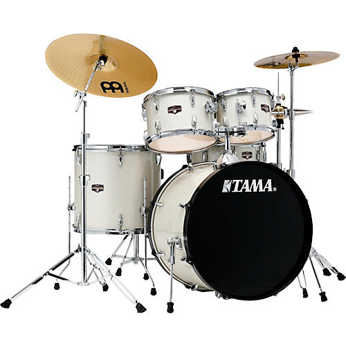 TAMA Imperialstar 5-Piece Complete Drum Set with 22 in. Bass Drum and Meinl HCS Cymbals thumbnail