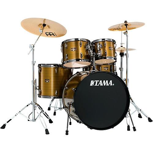 Tama Imperialstar 5-Piece Drum Set with Black Nickel Hardware thumbnail