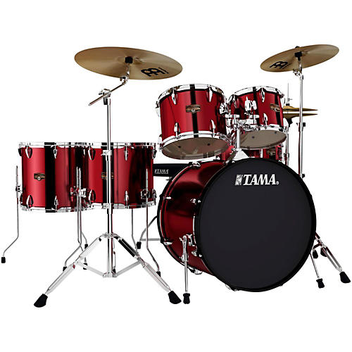 TAMA Imperialstar 6-Piece Drum Set with Cymbals thumbnail