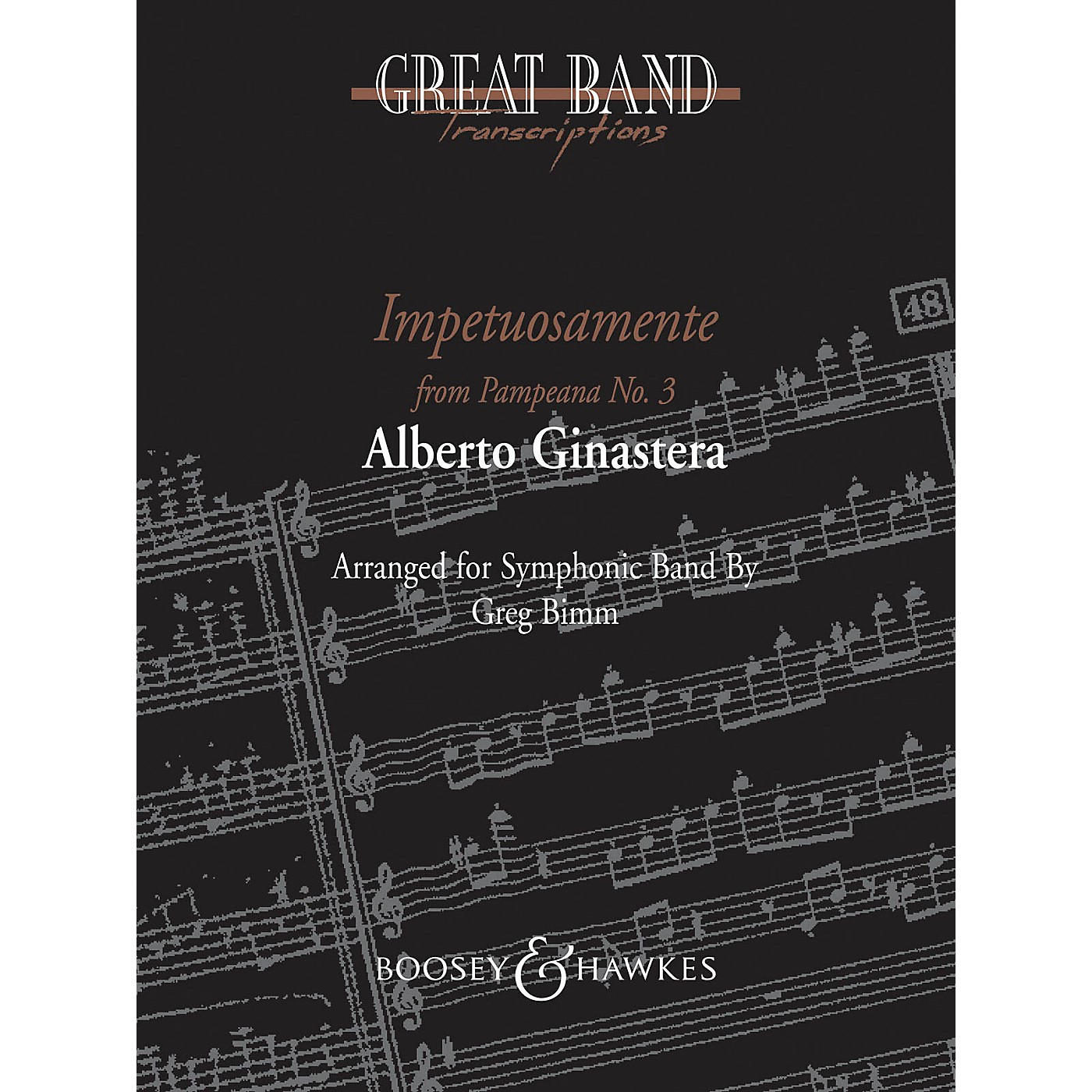Boosey and Hawkes Impetuosamente (from Pampeana No. 3) Concert Band Composed by Alberto E. Ginastera Arranged by Greg Bimm thumbnail
