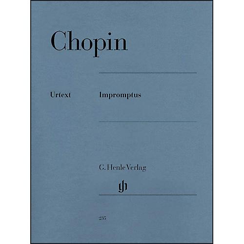G. Henle Verlag Impromptus By Chopin / Zimmermann thumbnail