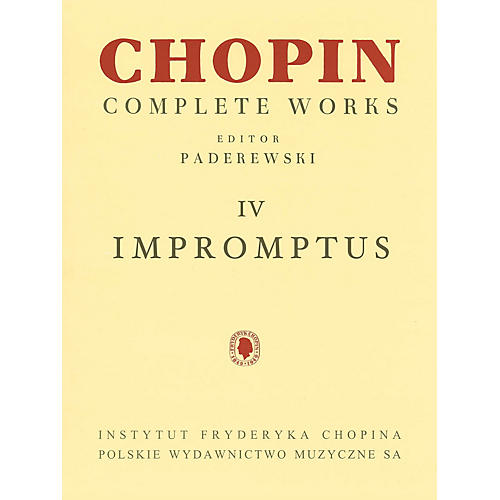 PWM Impromptus (Chopin Complete Works Vol. IV) PWM Series Softcover thumbnail