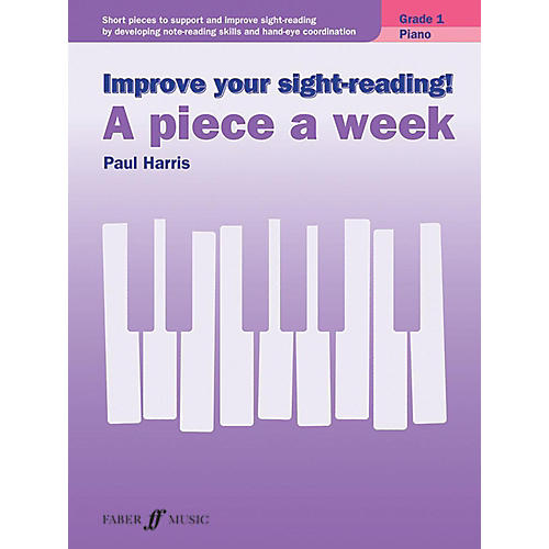Alfred Improve Your Sight-Reading! Piano: A Piece a Week, Grade 1 Early Elementary thumbnail