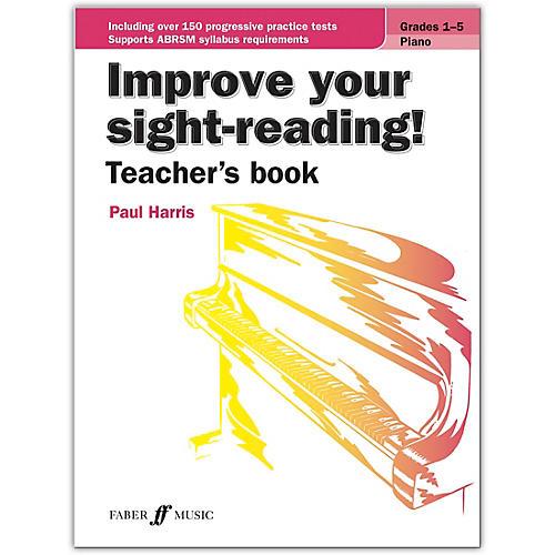 Faber Music LTD Improve Your Sight-Reading! Piano (Teacher's Book) Grades 1-5 thumbnail