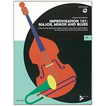 ADVANCE MUSIC Improvisation 101: Major, Minor, and Blues Bass Instruments Book & CD