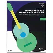 ADVANCE MUSIC Improvisation 101: Major, Minor, and Blues Guitar Book & CD
