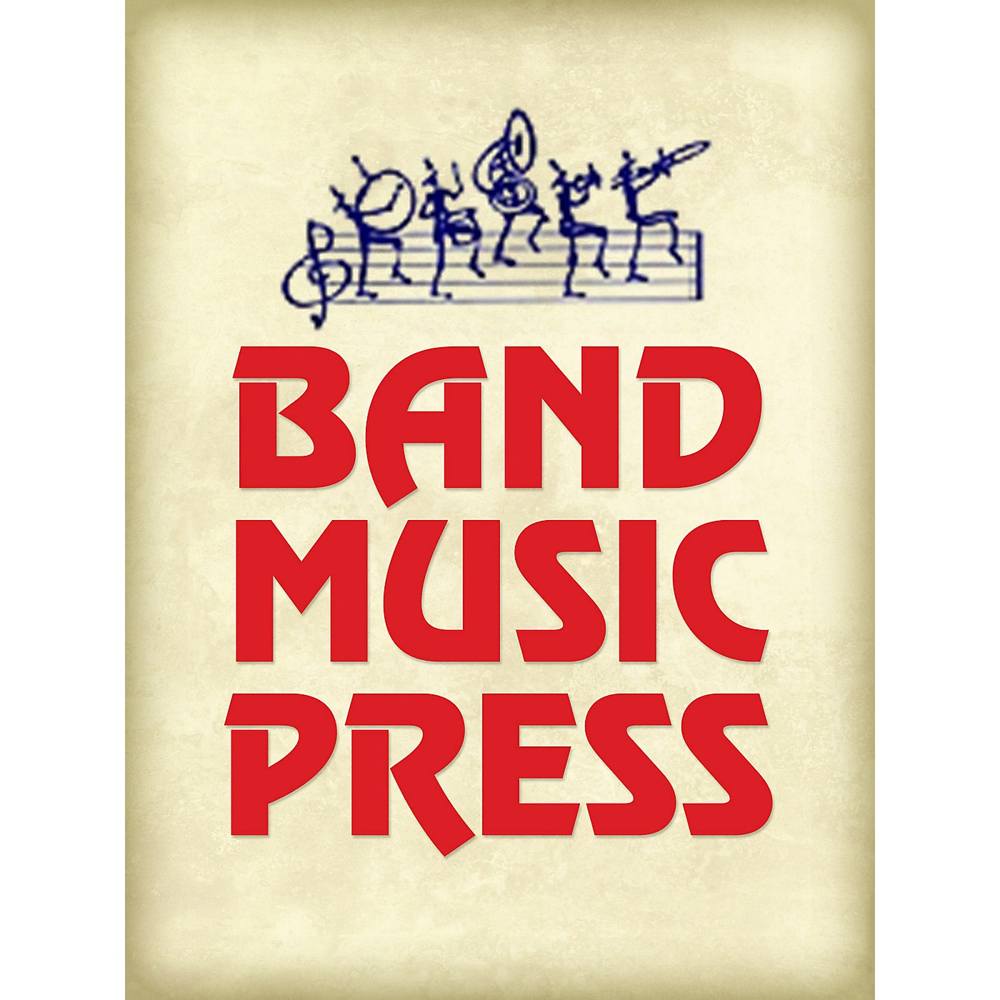 Band Music Press Improvisation and Canon for Three Two-tone Phonebooks Concert Band Level 3 Composed by Ward Durrett thumbnail