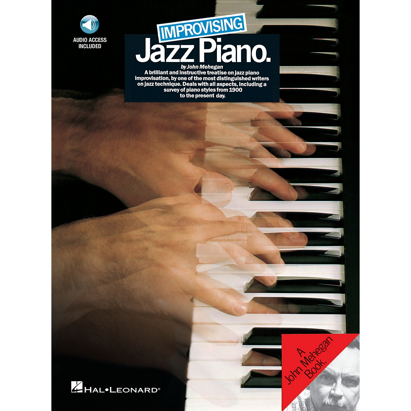 Music Sales Improvising Jazz Piano Music Sales America Series Softcover with CD Written by John Mehegan thumbnail