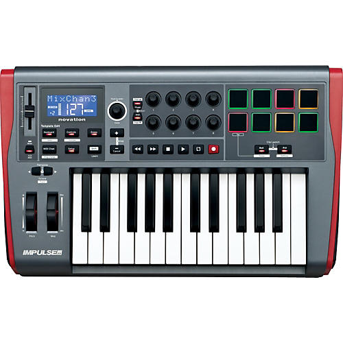 Novation Impulse 25 MIDI Controller thumbnail