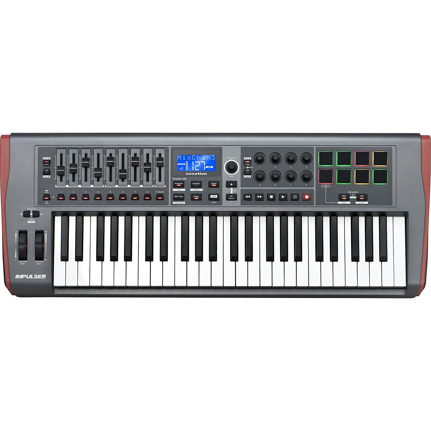 Novation Impulse 49 MIDI Controller thumbnail