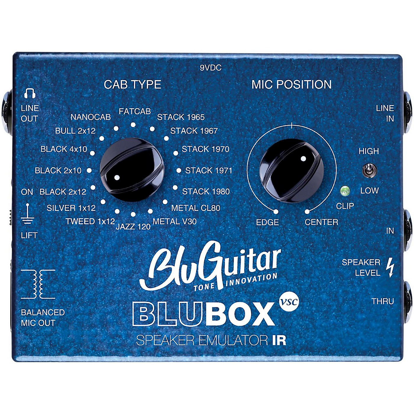 BluGuitar Impulse Response Speaker Emulator Pedal thumbnail