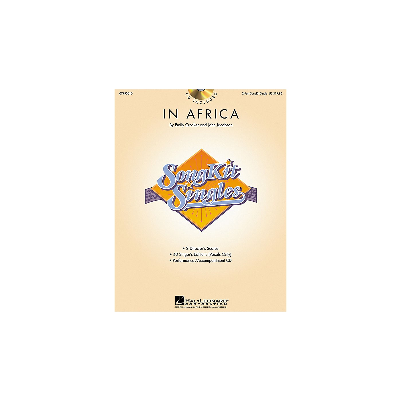 Hal Leonard In Africa (SongKit Single) 2-Part Composed by John Jacobson thumbnail