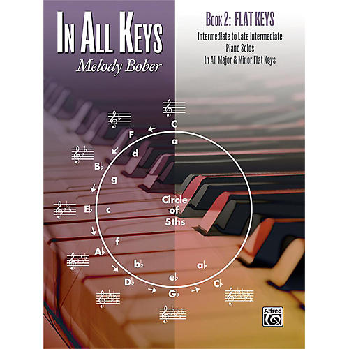 Alfred In All Keys, Book 2: Flat Keys Intermediate / Late Intermediate thumbnail