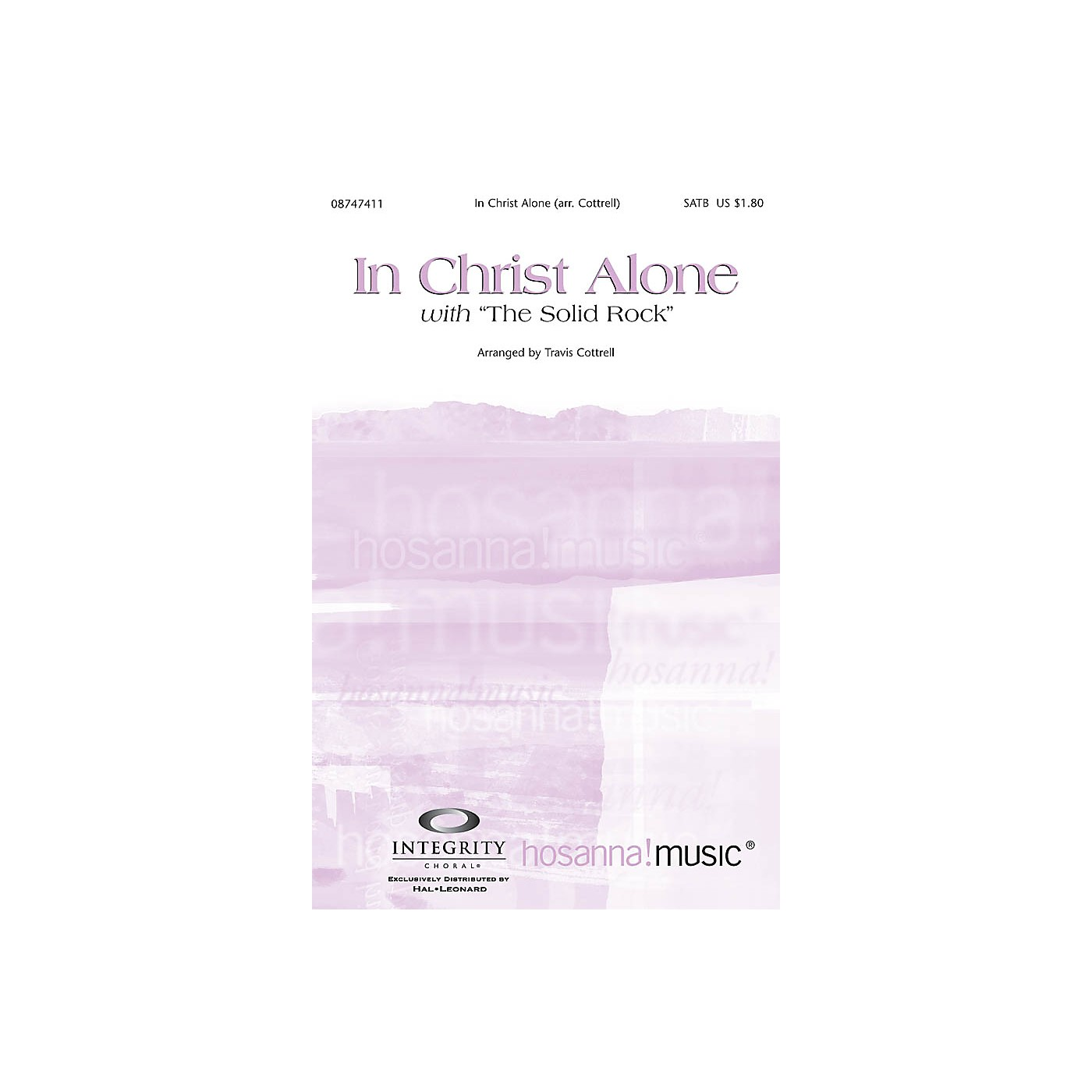 Integrity Music In Christ Alone (with The Solid Rock) Orchestra by Travis Cottrell Arranged by Travis Cottrell thumbnail