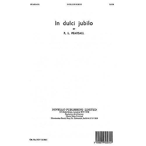 Novello In Dulci Jubilo SATB Composed by Robert Pearsall thumbnail