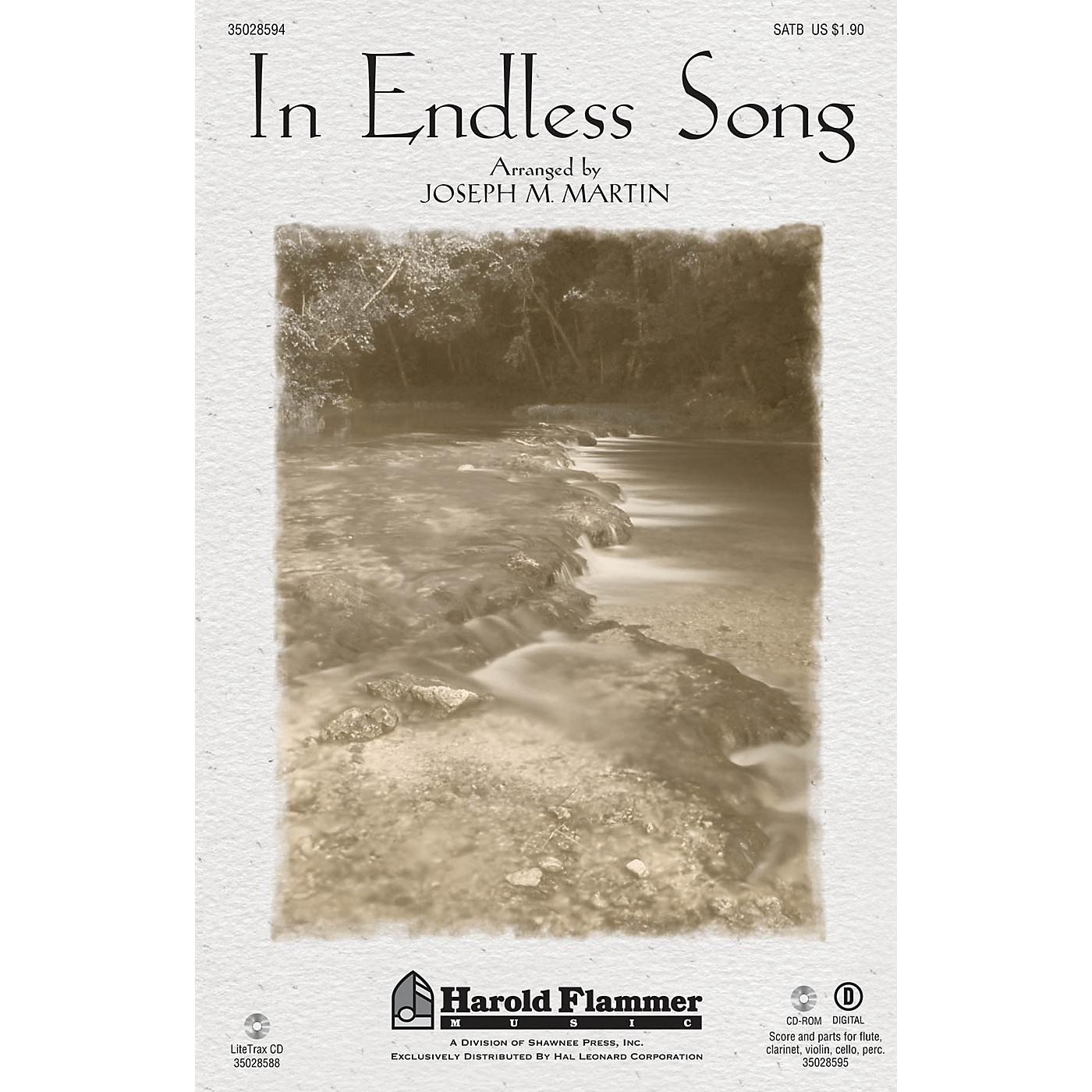 Shawnee Press In Endless Song ORCHESTRATION ON CD-ROM Arranged by Joseph M. Martin thumbnail