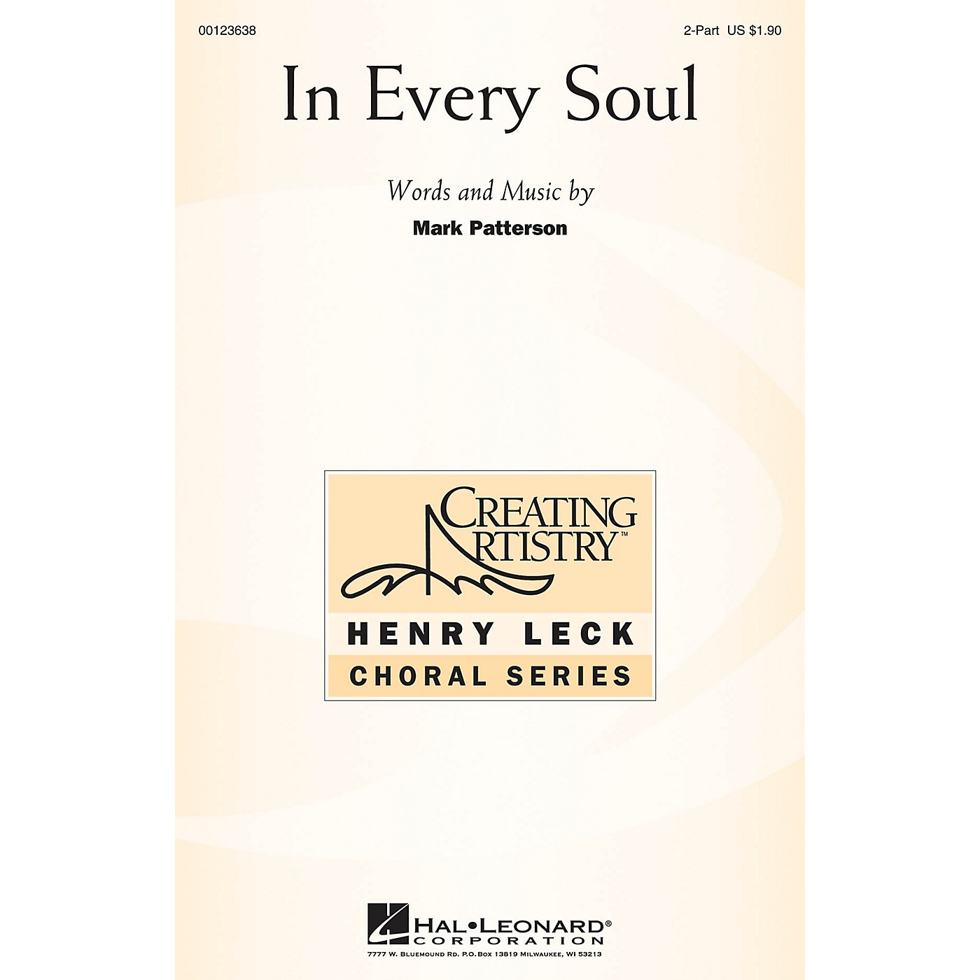 Hal Leonard In Every Soul 2-Part composed by Mark Patterson thumbnail