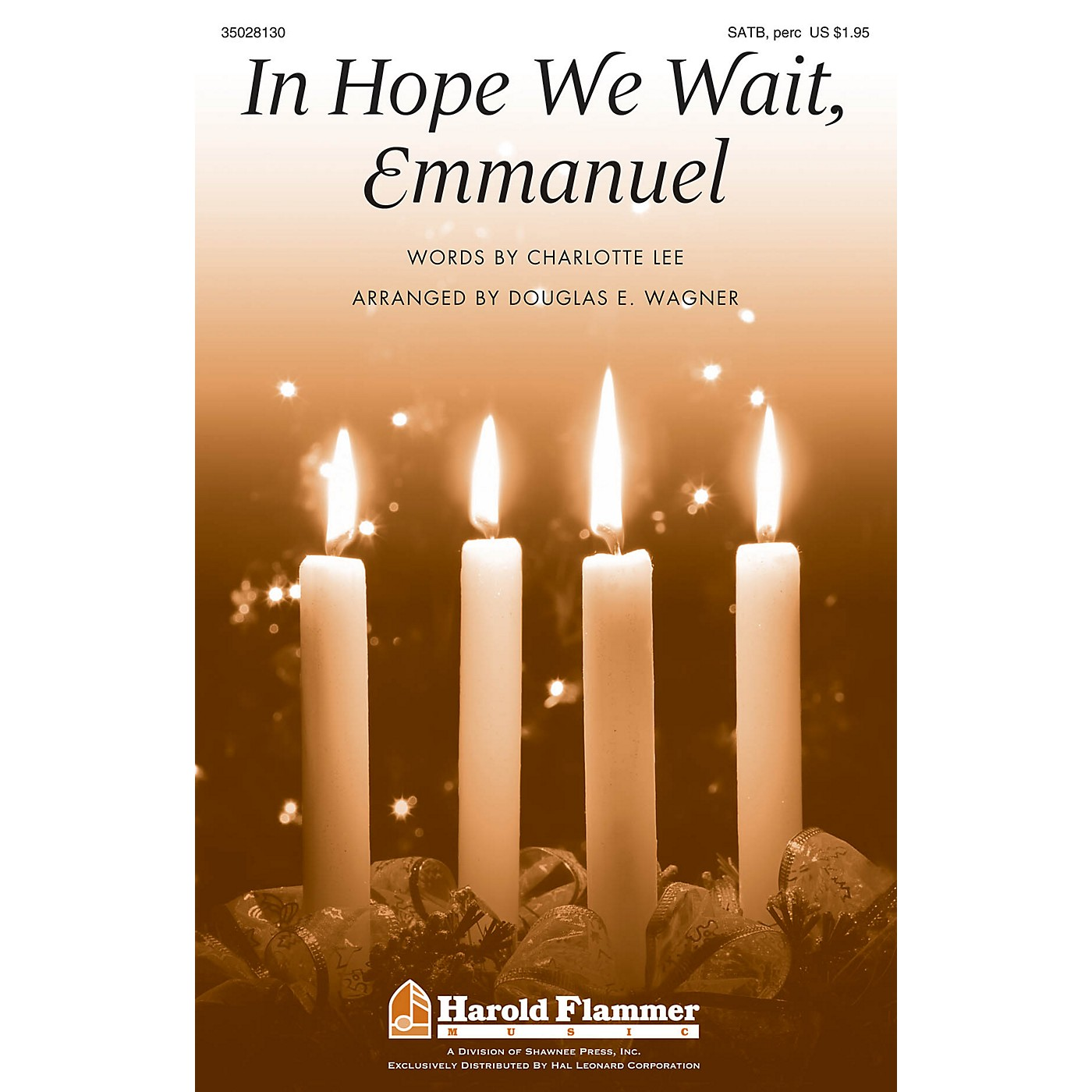 Shawnee Press In Hope We Wait, Emmanuel SATB, ACCOMP WITH OPT. PERCUSS arranged by Douglas E. Wagner thumbnail
