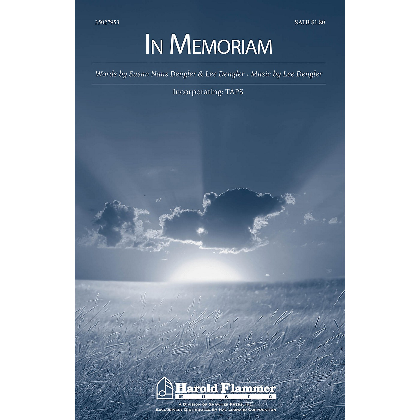 Shawnee Press In Memoriam (Incorporating Taps) SATB composed by Lee Dengler thumbnail