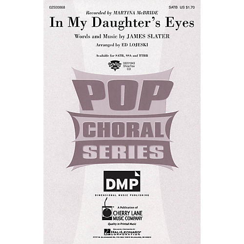 Cherry Lane In My Daughter's Eyes ShowTrax CD by Martina McBride Arranged by Ed Lojeski thumbnail