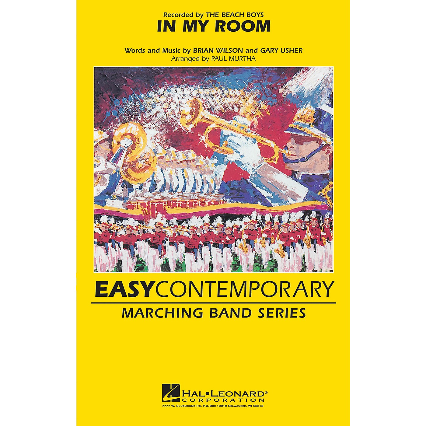 Hal Leonard In My Room Marching Band Level 2-3 by The Beach Boys Arranged by Paul Murtha thumbnail