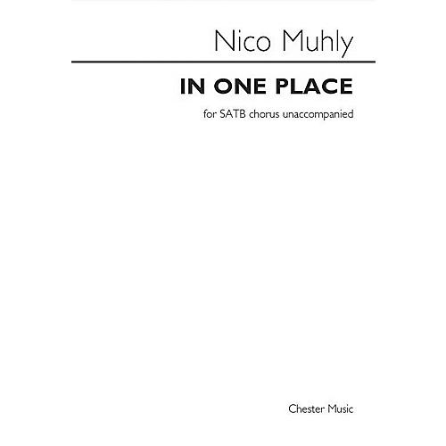 St. Rose Music Publishing Co. In One Place SATB a cappella Composed by Nico Muhly thumbnail