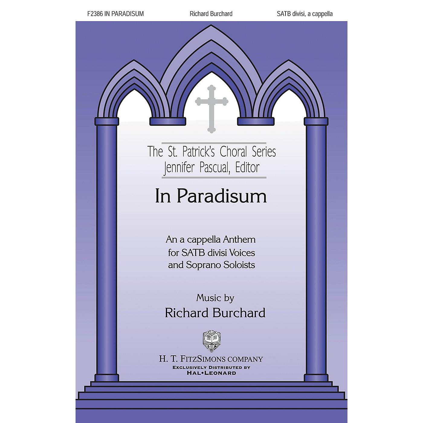 H.T. FitzSimons Company In Paradisum SATB DV A Cappella composed by Richard Burchard thumbnail