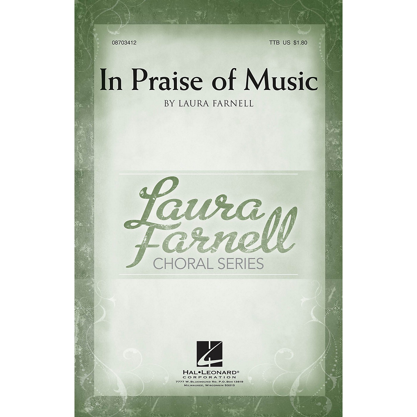 Hal Leonard In Praise of Music TTB composed by Laura Farnell thumbnail