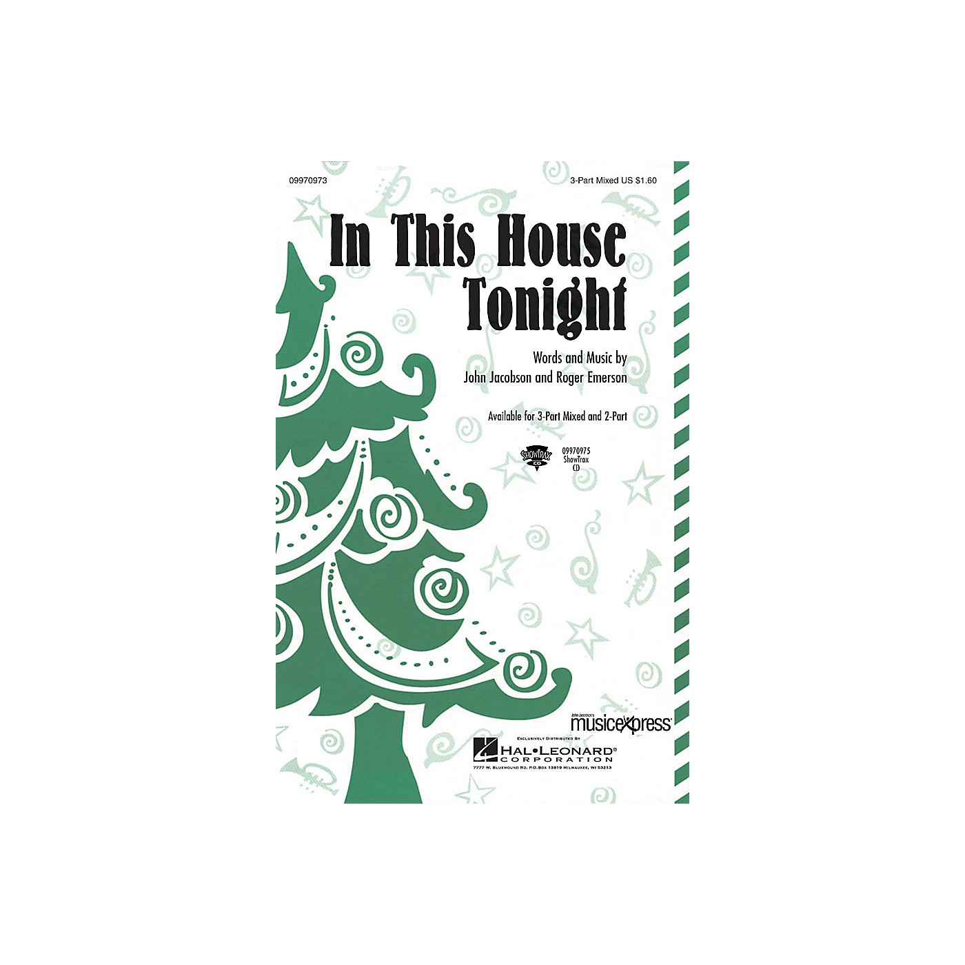 Hal Leonard In This House Tonight ShowTrax CD Composed by John Jacobson/Roger Emerson thumbnail