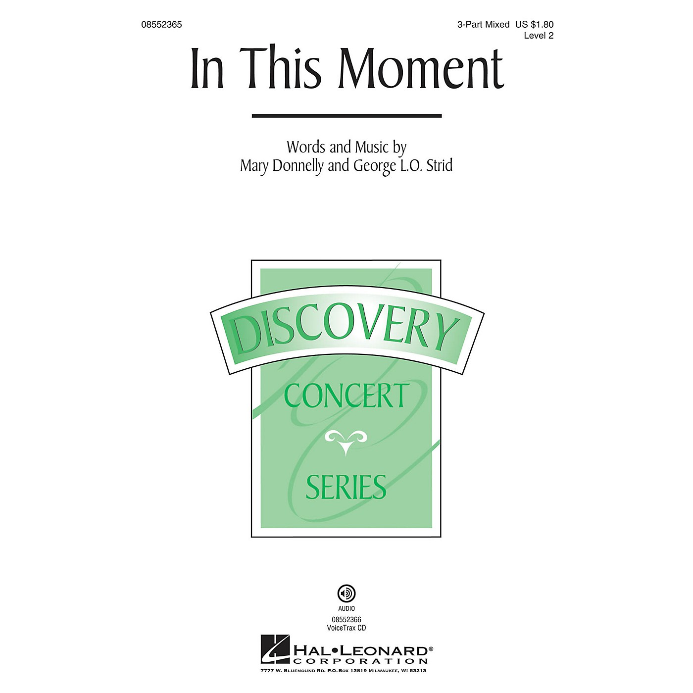Hal Leonard In This Moment (Discovery Level 2) VoiceTrax CD Composed by Mary Donnelly thumbnail