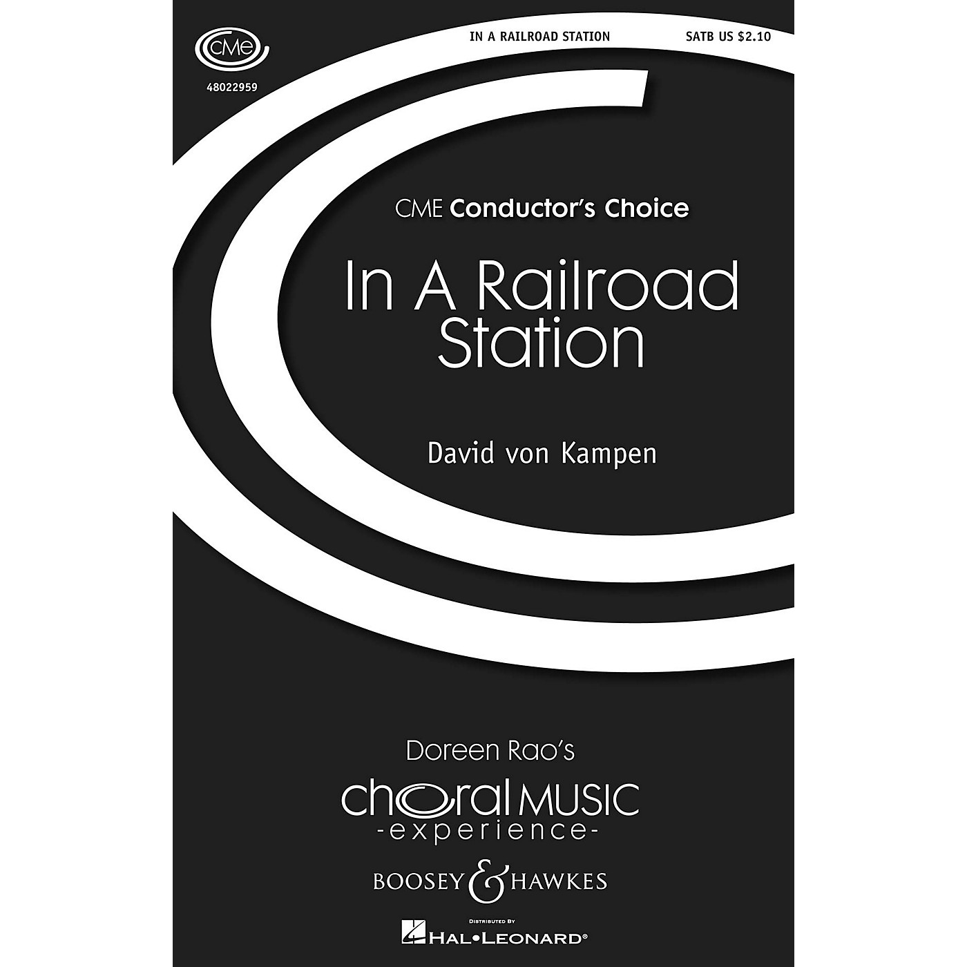 Boosey and Hawkes In a Railroad Station (CME Conductor's Choice) SATB composed by David von Kampen thumbnail