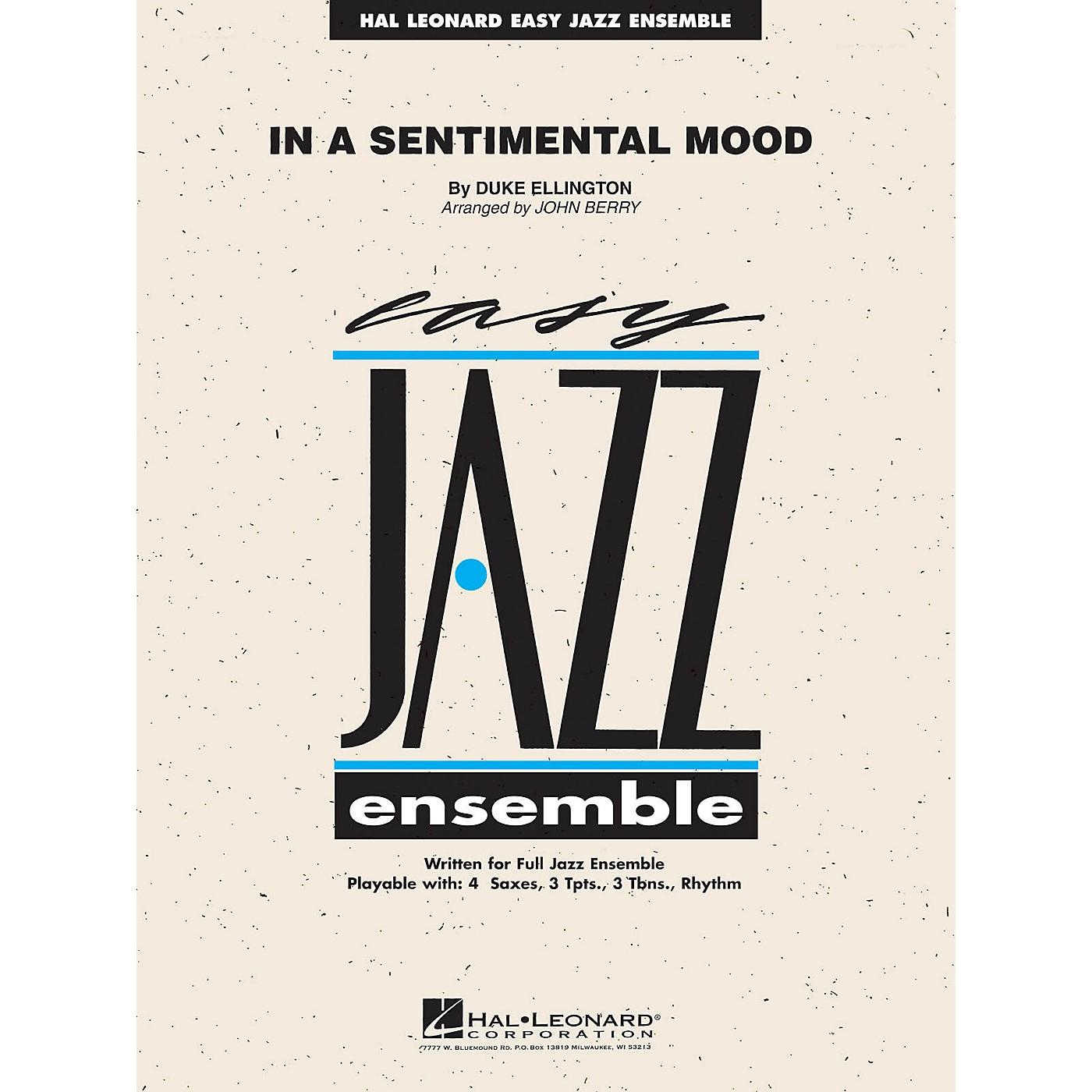 Hal Leonard In a Sentimental Mood Jazz Band Level 2 Arranged by John Berry thumbnail