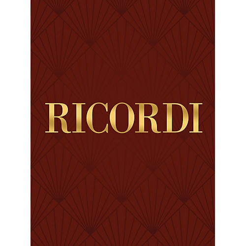 Ricordi In exitu Israel RV604 Study Score Series Softcover Composed by Antonio Vivaldi Edited by Michael Talbot thumbnail