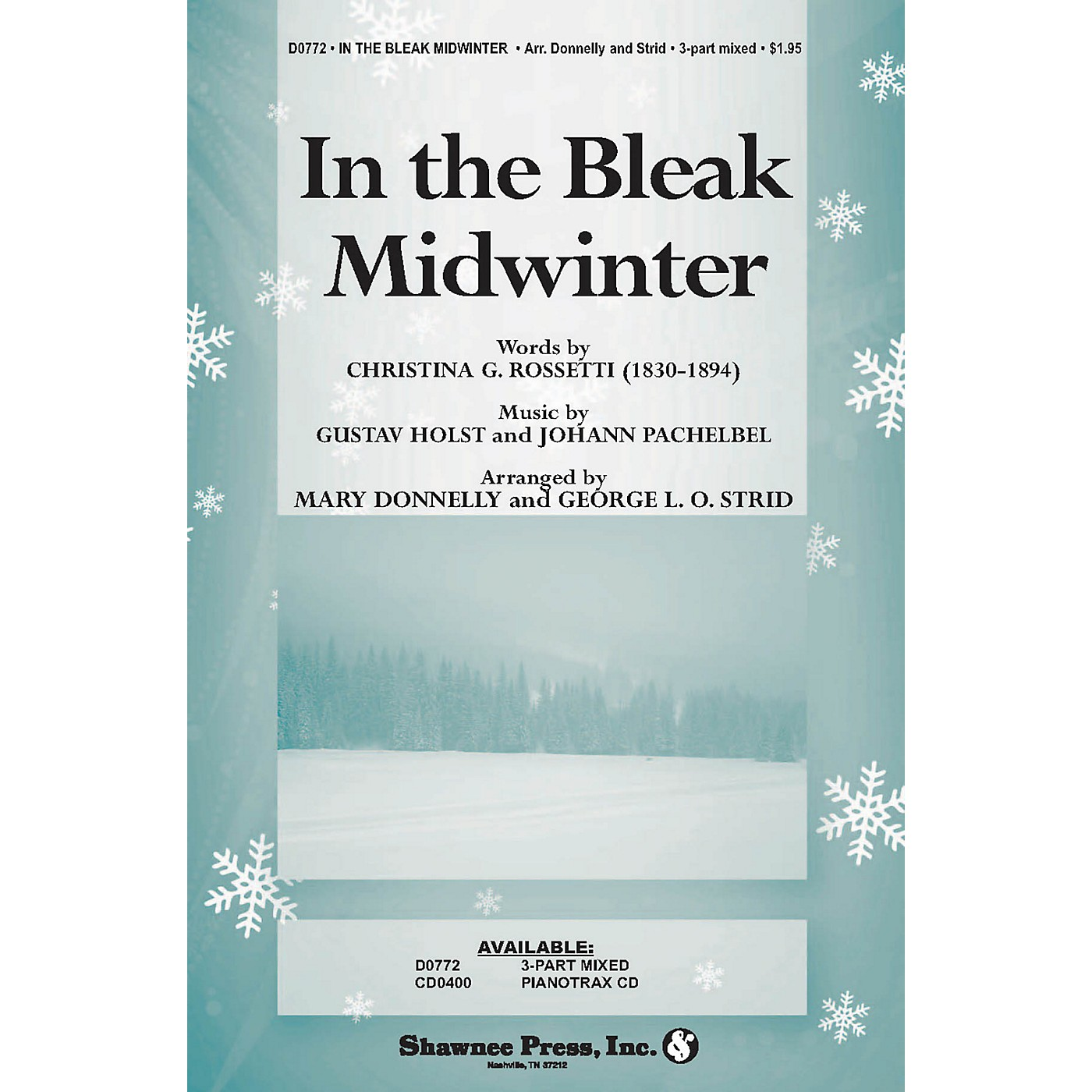 Shawnee Press In the Bleak Midwinter (Words by Christina Rossetti) arranged by George L.O. Strid thumbnail