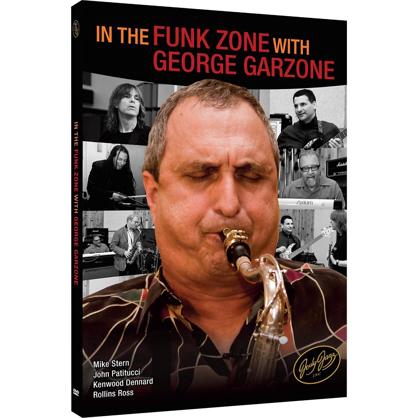 JodyJazz In the Funk Zone with George Garzone DVD thumbnail